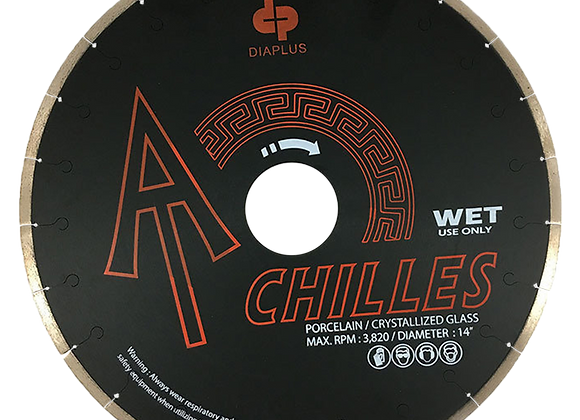 Achilles Porcelain/Crystallized Blade