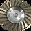 Thumbnail: Aluminum Turbo Cup Wheel