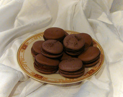 Cocoa French Macarons