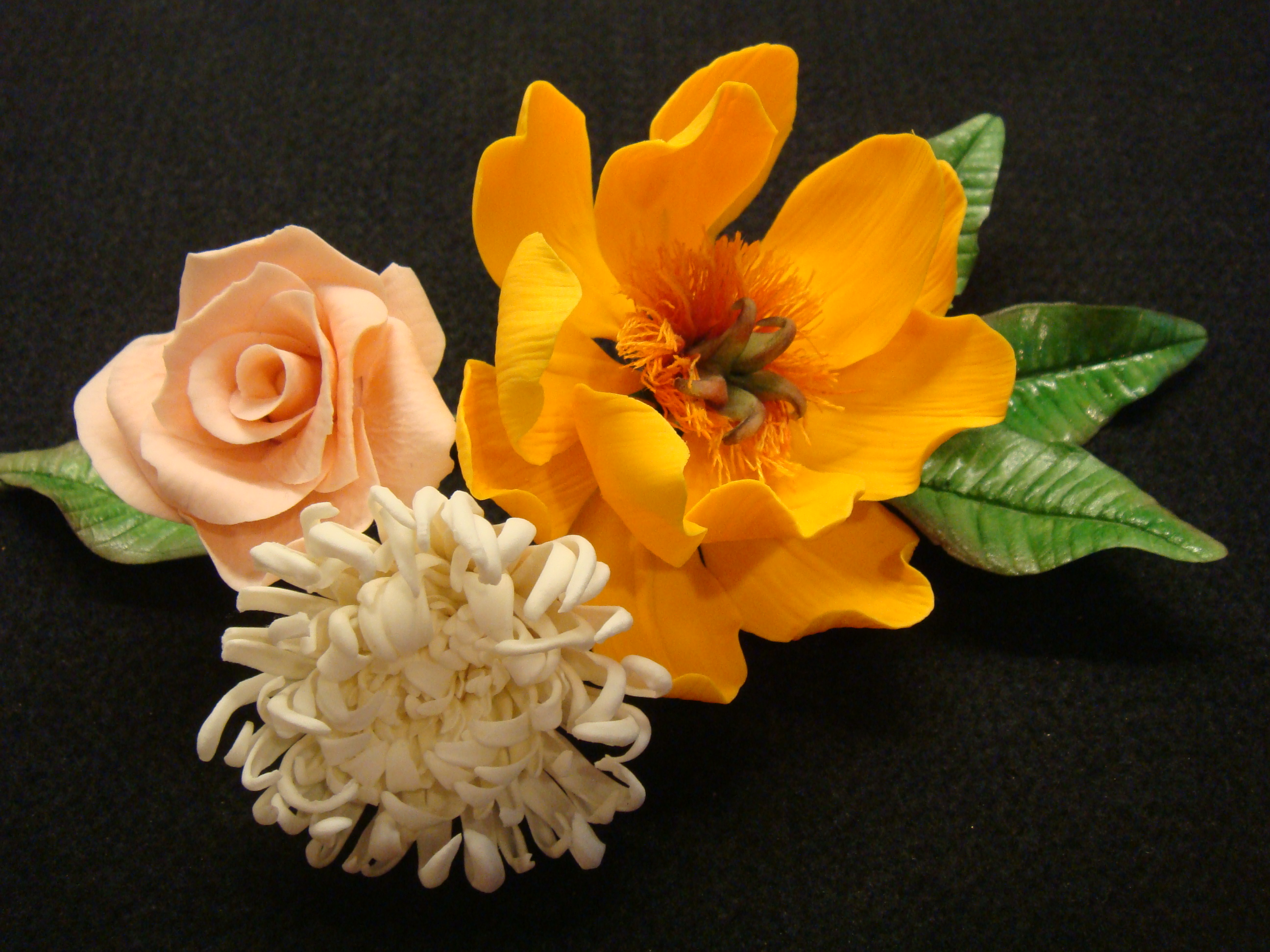 Hand Made Flowers of Sugar