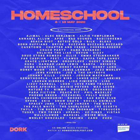 DORK'S HOMESCHOOL KICKS OFF FESTIVAL SEASON 2020