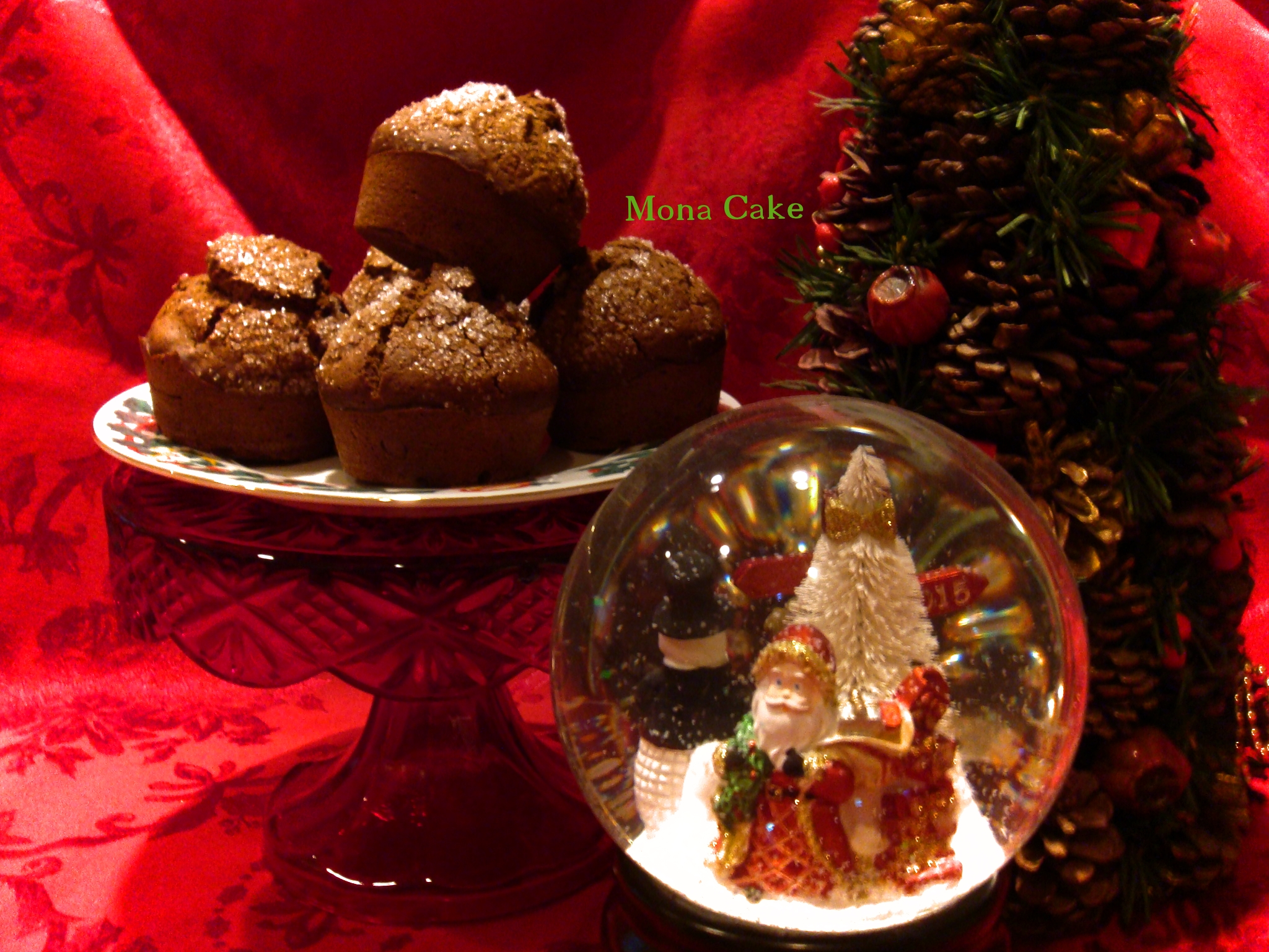 Gingerbread Christmas Muffins
