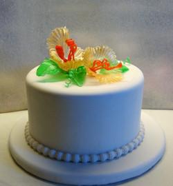 Art Sugar on Cake