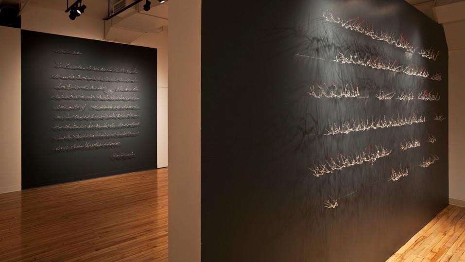MUSÉE DE LACHINE 2010 'Lignes' Curator / commissaire Pascale Beaudet