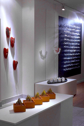 Installation view 2003 ...unravel/tangle/tangle/unravel... Solo exhibition