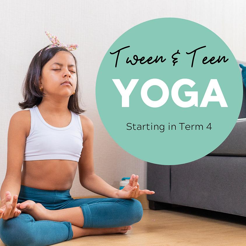 Tween & Teen Yoga - Term 4
