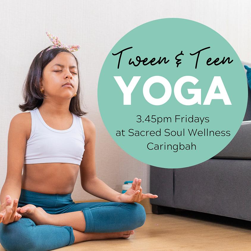 Tween & Teen Yoga - Term 1