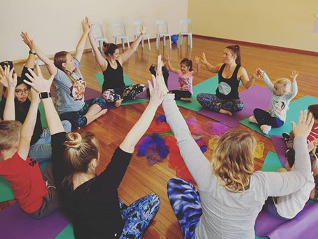 Why I decided to become a Children's Yoga Teacher