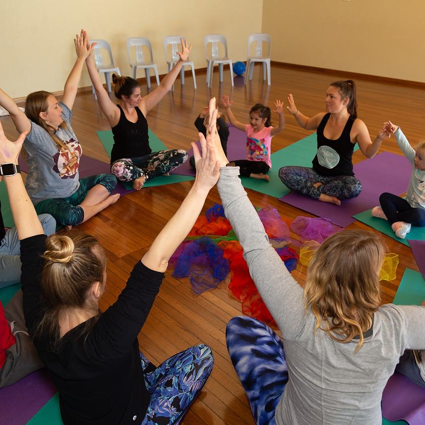 January Family Yoga Session