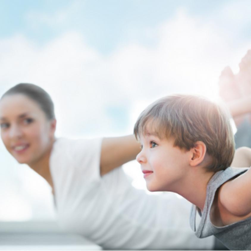 April Family Yoga - Live Online Session