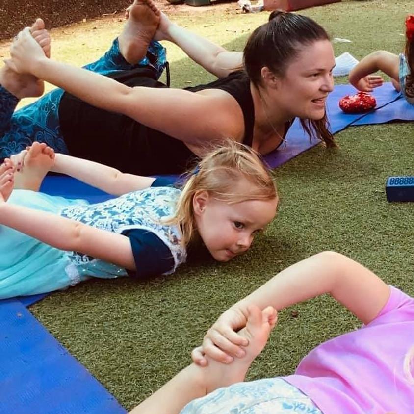 Yoga at  Bay Road Kindy - Term 2