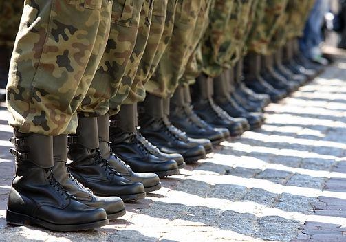 botas del ejército