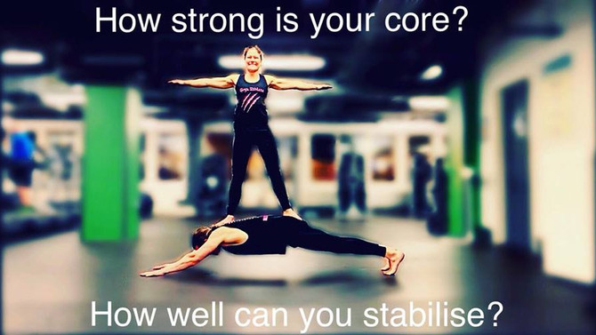 """I need to work on my core"""