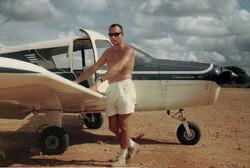 Oats pronto al decollo da Malindi, 1967
