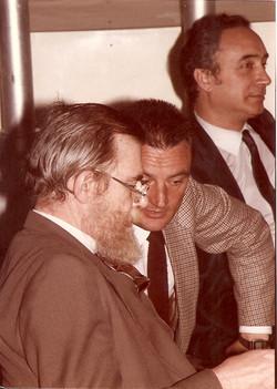 Antonio Quintilli, Giorgio Predonzani e Enrico Ambrogini in riunione a Roma