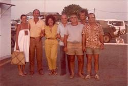 Gruppo SM aeroporto Malindi 1984