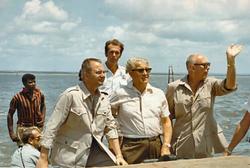 Von Braun e Broglio al poligono San Marco 1970