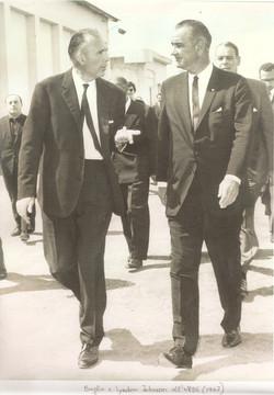 Broglio and LBJ, Rome, September 1962