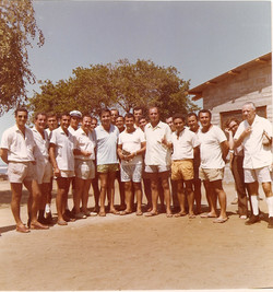 Gruppo SM e Ministro Corona (primo a destra)