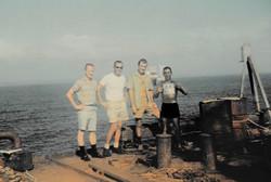 J. Slade (LTV), O. Schwarzenberger (LTV), V. Michelutti e M. Maggiobello 1967