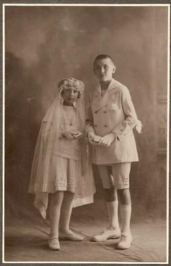 Luigi Broglio e sorella Teresa