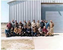 San Marco Project team, Wallops Island, March 1982