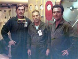 Ciro Grazzi, Michele Maggiobello e Tom Parisi nella Vinson
