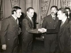 Mauro Lenzi, Marcello Fornaciari, Nicola Santoro e Gianni Gobbo, Quirinale, 1976
