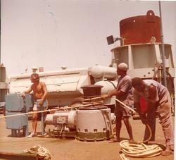 Elio Altomare, cavi sottomarini, gennaio 1981