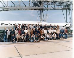 WALLOPS FLIGHT CENTER, VIRGINIA, MARCH 1982- PHOTO OF ITALIAN PERSONNEL