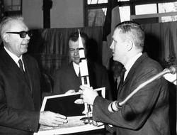 Prof. Broglio con esponenti NASA