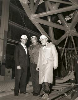 Giuseppe Spampinato, Lou Tosti (NASA) e Ugo Di Girolamo, WI 1964