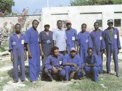 Kenyan employees, Base Camp 2007