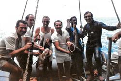 Sub Ilario Palone e colleghi fanno festa, 1967-75