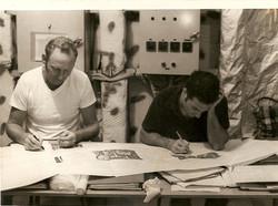 Wayne Spurlock e Bernabei, Apr 1970