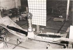 Heat-shield fit-check, SM-A, Dallas, 196