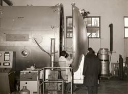 Prof. C. Arduini e simulatore spaziale,