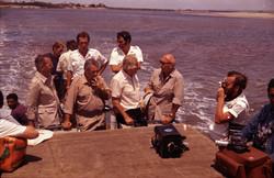 Visita von Braun, 1971 - Proff. Broglio e Buongiorno, Cigolini, Verghini e F. Quintilli