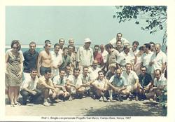 Broglio e gruppo CB, 1967