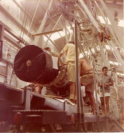 Giuseppe Vermiglio, satellite NASA, shelter S1, piattaforma S. Marco, 1970-75.jpg