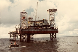 S. Rita Platform and Rubber Dinghy, January 1988.jpg
