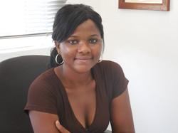 Charity Rehema, secretary, Base Camp
