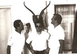 Cigolini, Bernabei e B. Lattanzi - Rex Hotel Annex, Msa, Aprile 1968