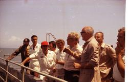 N. Esposito, F. Esposito, R. Palermo, G. Manarini, W. von Braun, L. Broglio, C. Buongiorno, 1971