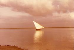 Mashua in uscita dalla baia di Ngomeni, marzo 1981.jpg