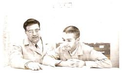 Ing. G. Spampinato e B. Bernabei, Wallops Island, Virginia, 1964