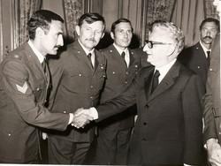 Presidente G. Leone, C. Celletti, G. Cresci, M. Lenzi, N. Santoro, 1976