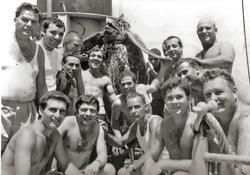 Gruppo SM e preda dei sub Ilario Palone e Giuseppe Meloni, 1967-75