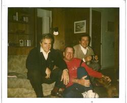 Raffaele Virno L., Bill Campbell and Mauro Lenzi