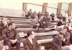 Personale PSM su tribuna spettatori - Lancio Scout S-136, WI 20.04.1965